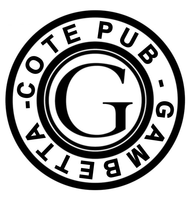 Logo cote pub blanc